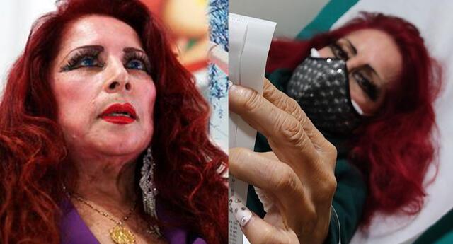 La cantante Monique Pardo vuelve a la clínica para hacerse pruebas sobre su delicado estado de salud.