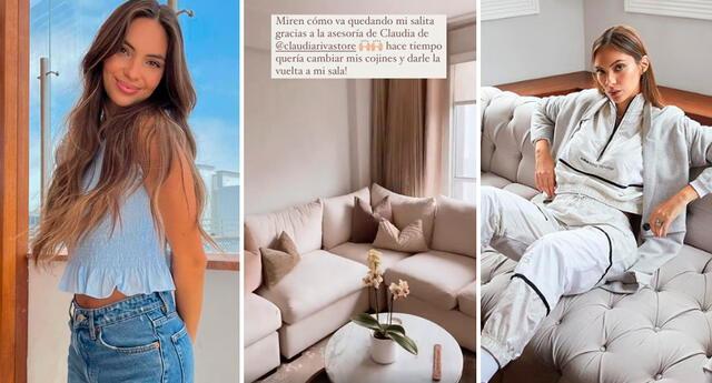 Natalie Vértiz feliz con los cambios que realizó en su casa.