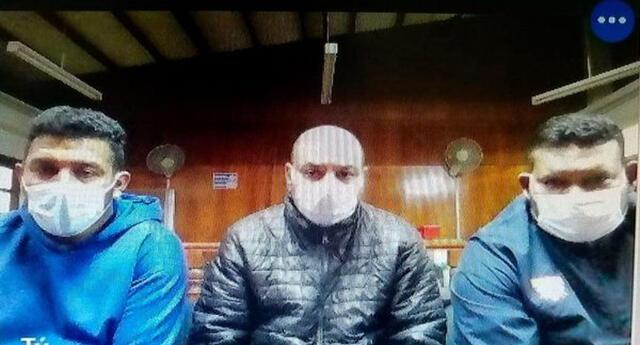 Poder Judicial de Lima Sur dictó prisión para tres asaltantes de banco