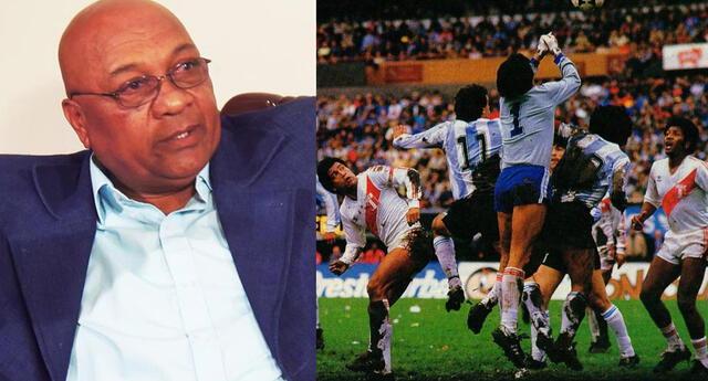 'Patrón' Velásquez revive lo que fue el 2-2 de 1985 entre Perú y Argentina.