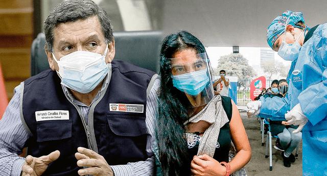 Hernando Cevallos anunció la medida sanitaria en conferencia de prensa.