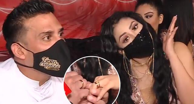 Pamela Franco y  Christian Domínguez cuentas sus planes de matrimonio.