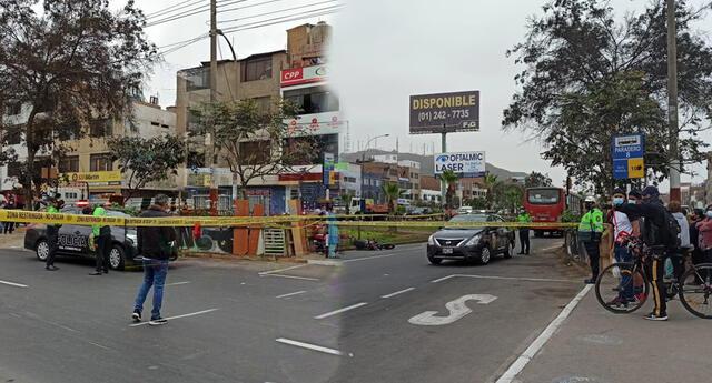Hombre muere durante accidente vehicular en San Martín de Porres.
