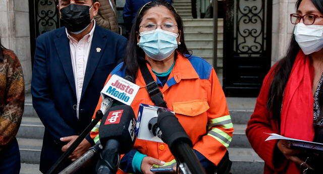 Isabel Cortez, congresista de Juntos por el Perú.