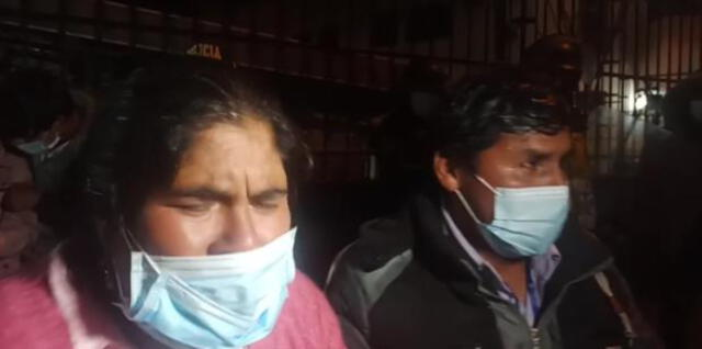 Padres de menor exigieron justicia a las autoridades.