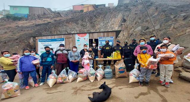 Los pobladores agradecieron noble labor de agentes PNP