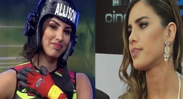 Korina Rivadeneira se molesta con Allison Pastor en vivo.