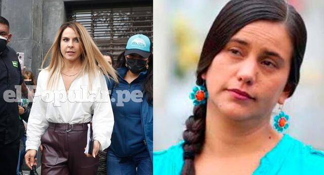 Verónika Mendoza reacciona tras ser confundida con el personaje de La Reina del Sur