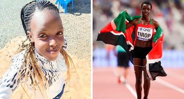 """""""Kenia perdió un diamante"""", indicó la Asociación de Atletismo de Kenia."""