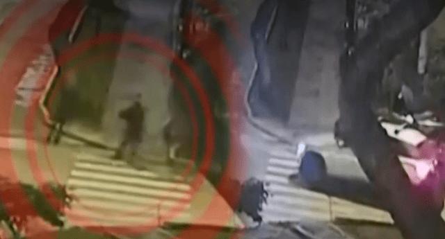 Los militares trataron de atrapar a los delincuentes, pero uno de ellos recibió una bala en la pierna