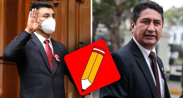 Oscar Zea, de Perú Libre, contradice a Vladimir Cerrón y asegura que le darán el voto de confianza a Mirtha Vásquez.
