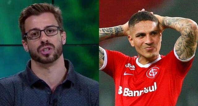 El periodista tuvo duras criticas y cuestionó la estadística de goles del delantero peruano.