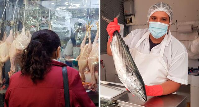 El pollo presentó un incremento en sus precios durante los últimos días.