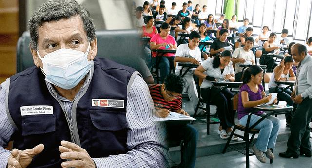 Hernando Cevallos aseguró que el retorno dependerá de las mismas universidades