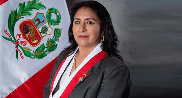Katy Ugarte congresista de Perú Libre representante de la región Cusco