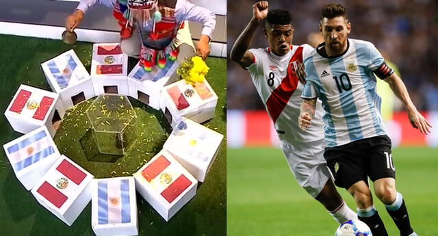 Perú y Argentina se enfrentan este jueves por las Eliminatorias Qatar 2022 y el cuy dio su predicción.