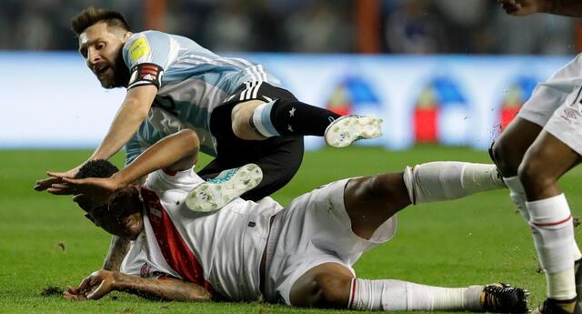 Perú y Argentina se vuelven a encontrar en un partido por Eliminatorias.