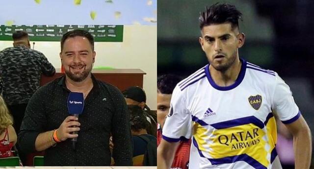Zambrano es duramente criticado por periodista argentino tras su bajo desempeño en Boca Juniors.