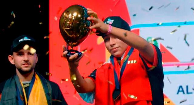 Peruano Francesco de la Cruz campeón del Mundial de Globos.