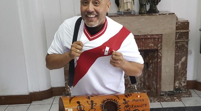 Marco Romero orgulloso de ser peruano
